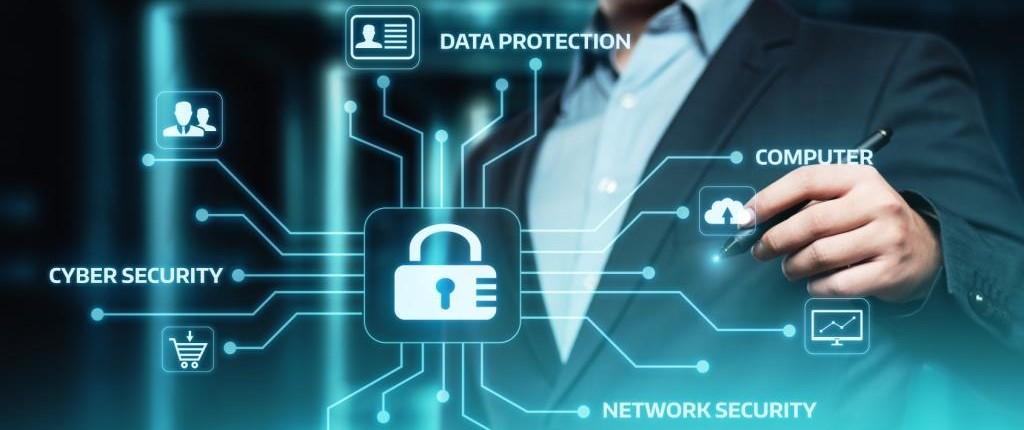 Cyber Security Datenschutz Platine Schutz Network Netzwerk Online MTG Wirtschaftskanzlei Bayern